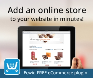 Add an online store to your website in minutes! Ecwid FREE eCommerce plugin