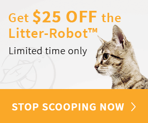 $25 OFF Coupon Litter Robot
